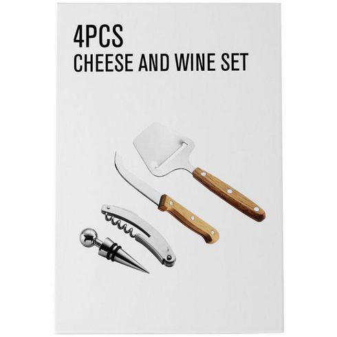 Nantes vin- og ostesæt m. 4 dele