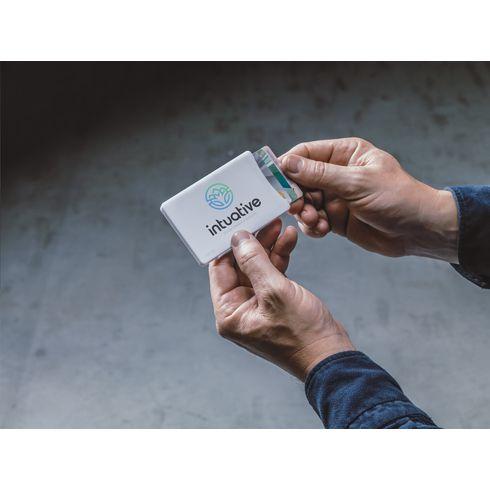 Visita kortholder med skub-ud funktion