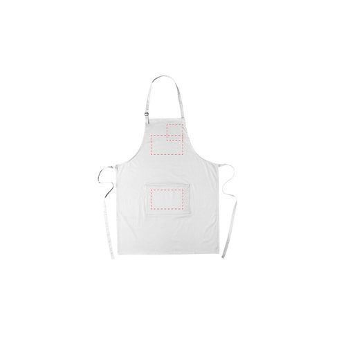 Cocina forklæde med lomme og logo