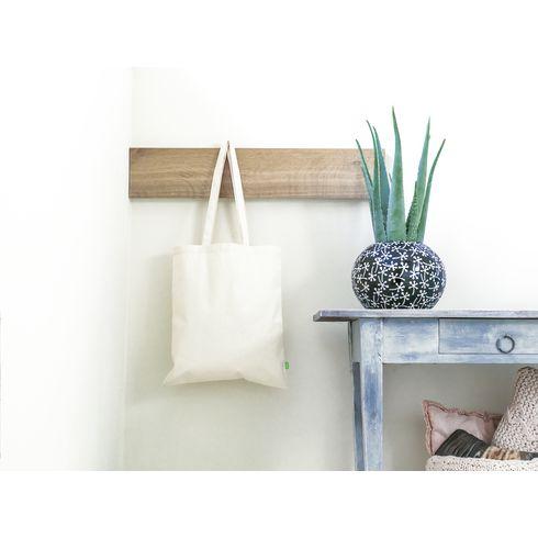 Indkøbsnet i organisk bomuld · 320g/m²