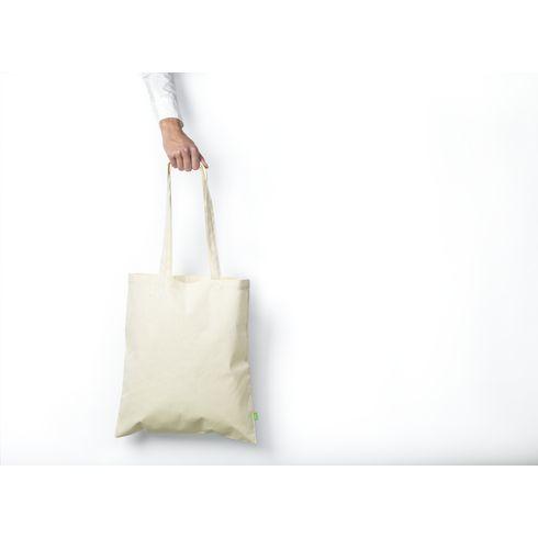Indkøbsnet i organisk bomuld · 140g/m²
