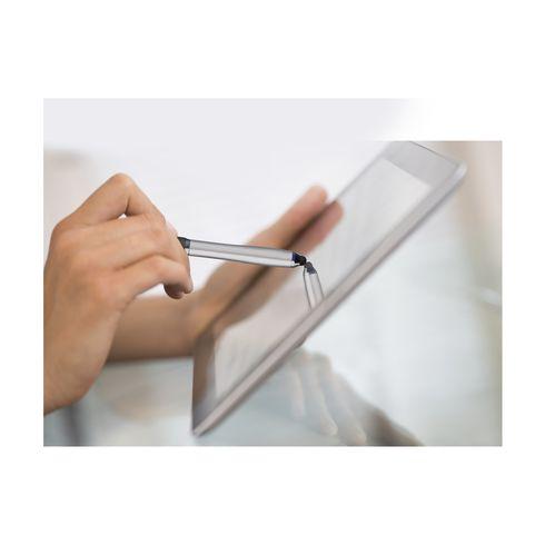 Athos® touchscreenkuglepen med non-slip greb i farver