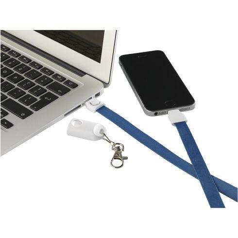 KeyCord SmartCharger 2-i-1 nøglesnor