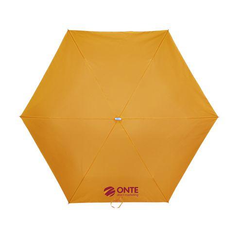 Ultra foldbar paraply