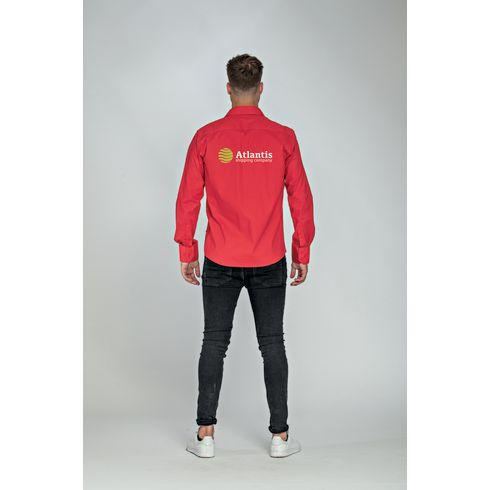 L&S Poplin Longsleeve Shirt herre skjorte