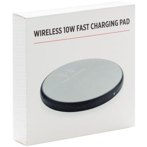 Wireless 10W Fast Charging Pad trådløs oplader