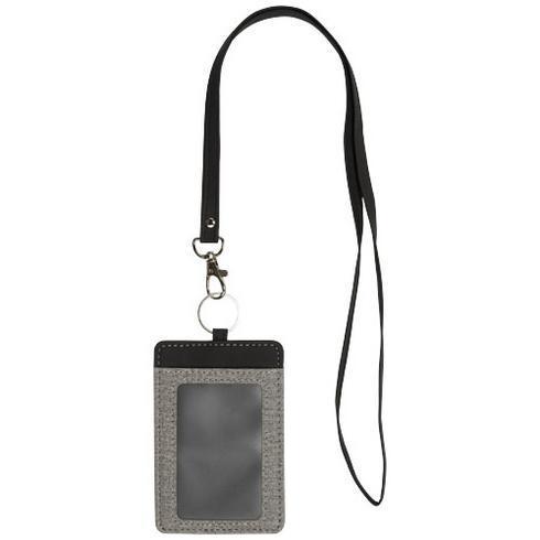 Eye-d meleret holder til ID-kort med nøglesnor
