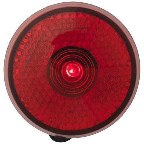 Shini refleks med rødt lys