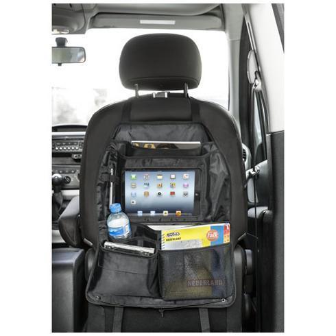Back seat taske med rum til tablet
