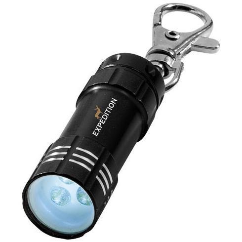 Astro nøglering med LED-lys