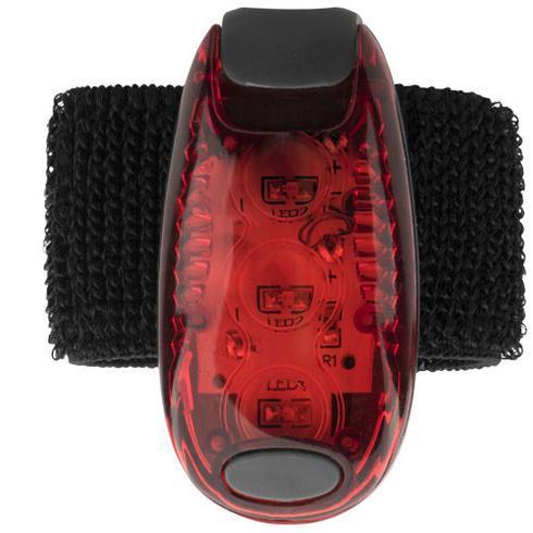 Rideo refleks med rødt lys