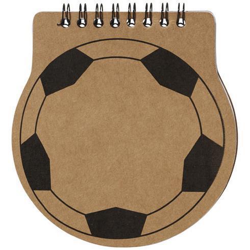 Score fodboldformet notesbog