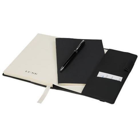 Aria gavesæt med notesbog og kuglepen