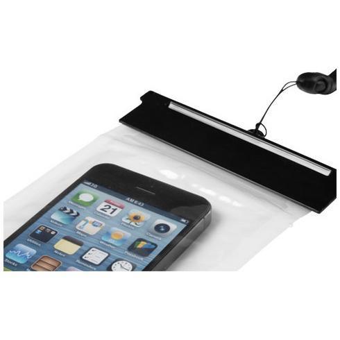 Splash vandtæt pose til smartphone med touchskærm