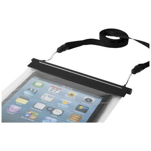 Splash vandtæt pose med touchskærm til mini-tablet