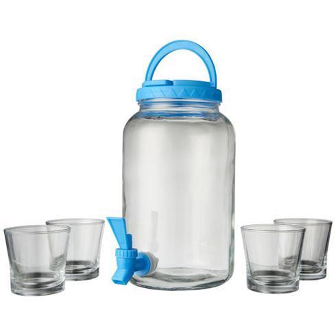 Festi drinksdispensersæt med 5 dele