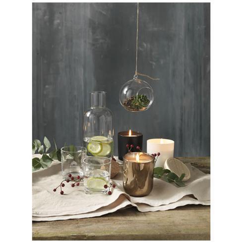 Lani stearinlys med trælåg