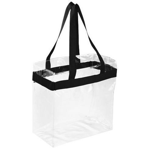 Hampton transparent taske