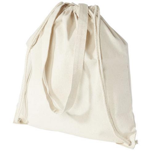 Eliza 240 g/m² rygsæk med snøre i bomuld