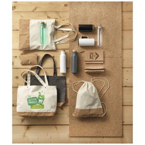 Napa 406 g/m² bærepose af bomuld og kork