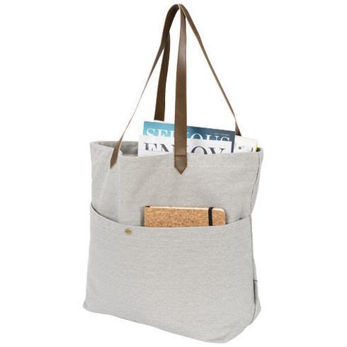 Harper mulepose af bomuldslærred til bøger
