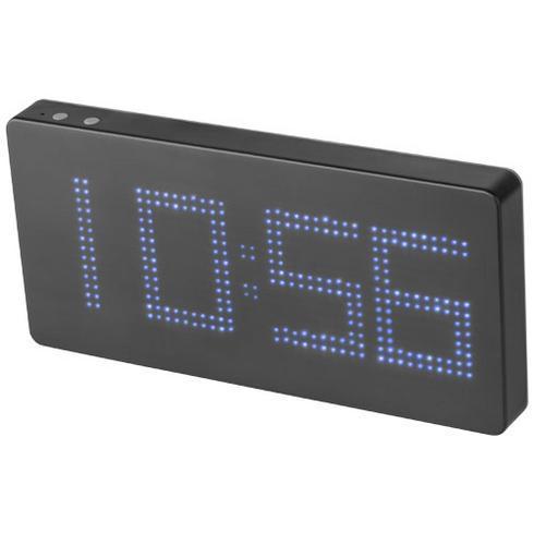 Powerbank med ur og LED display 8000 mAh
