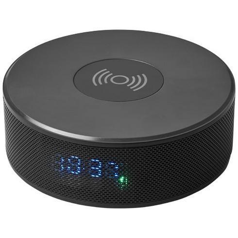 Circle højttaler m. trådløs oplader og vækkeur