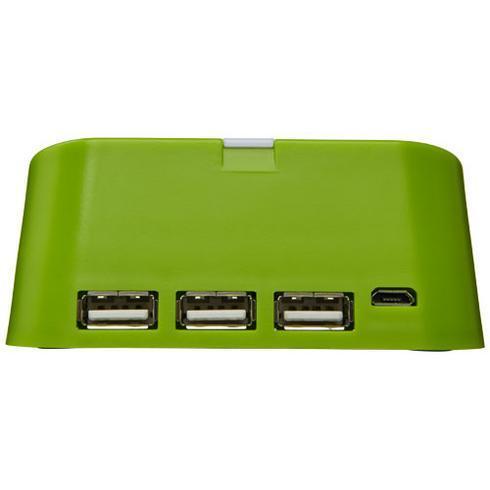 Hopper 3-i-1 USB-hub og telefonholder