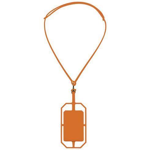 Silikone RFID kortholder med lanyard