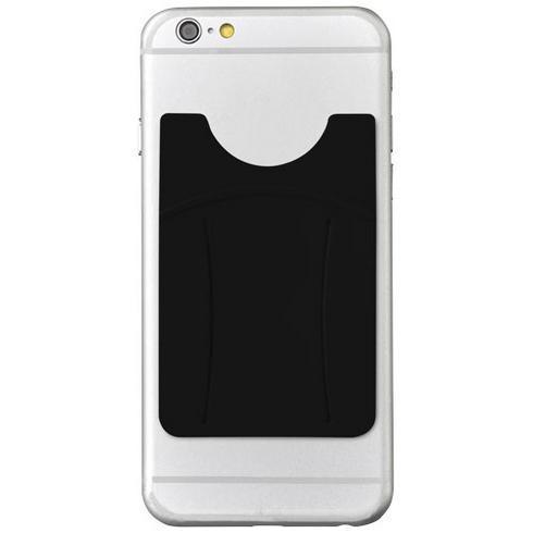 Storee silikone mobilkortholder med fingerholder